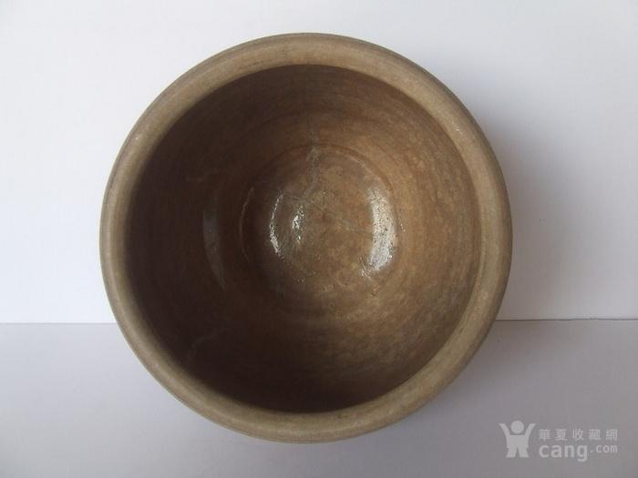 清代中晚期花草动物纹青花水盂图3