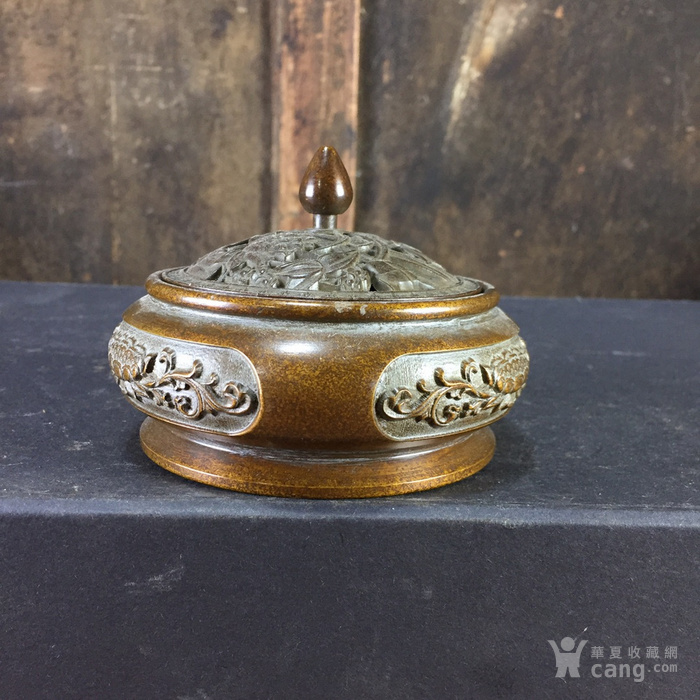 铜熏香炉图3