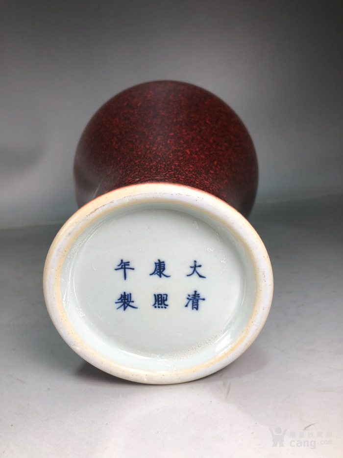 q代康熙红釉梅瓶图9