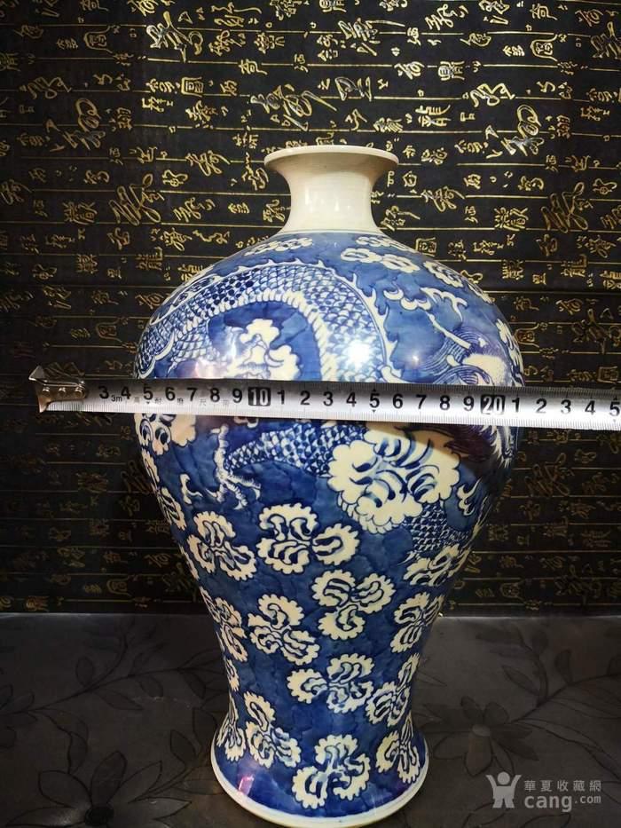清道光青花龙纹梅瓶图9