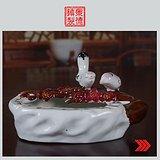景德镇轻工部陶瓷研究所喜上眉梢精品烟灰缸