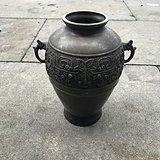 双耳铜花瓶 铜器 Z190301M