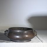 铜炉,双耳香炉