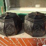 黑檀木棋子盒