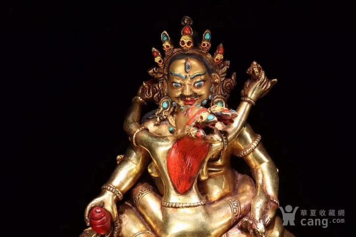 清 藏传 红财神造像